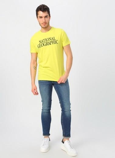 National Geographic Tişört Sarı
